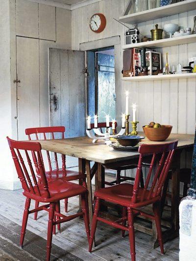 Peindre des chaises ordinaires pour des cuisines bien plus - Peindre des chaises en bois ...