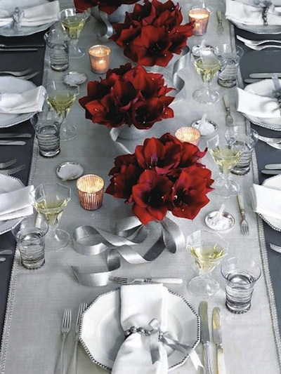 Des exemples des plus belles tables de no l pour inspirer for Exemple de table de noel