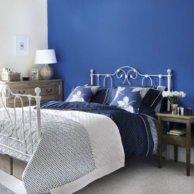 Beautiful Chambre Bleu Marine Et Blanc Images - Design Trends 2017 ...