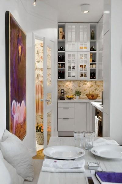 Astuces pour am nager une trop petite cuisine for Idee amenagement cuisine petit espace