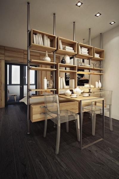 Comment Cloisonner L'Espace Chambre Dans Le Studio.