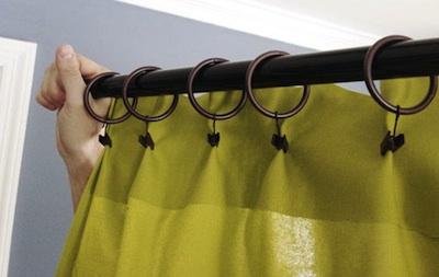 D\'autres façons d\'accrocher ses rideaux