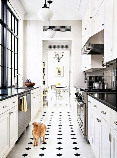 Top Installer une cuisine parfaite dans un couloir BD54