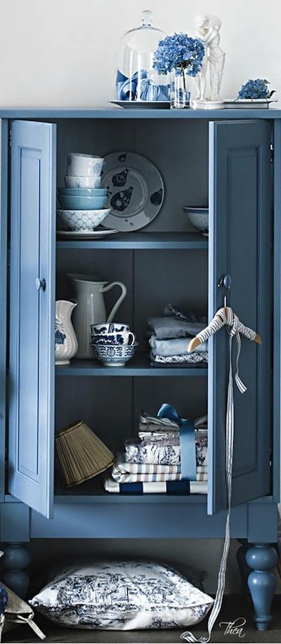 cd7b131eb09d6f Peindre ses meubles en bleu  exemples et idées.