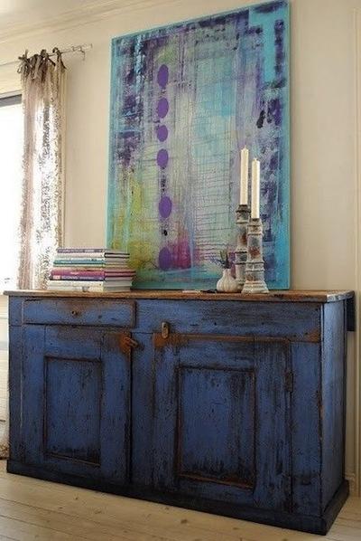 Peindre ses meubles en bleu tous styles d coration du bontemps for Peindre ses meubles
