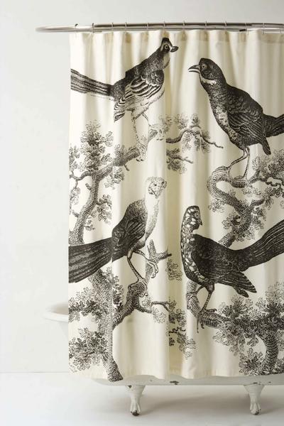 Les rideaux de douche ont du style - Rideau de douche chic ...