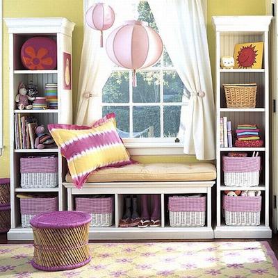 am nager un coin lecture la fen tre. Black Bedroom Furniture Sets. Home Design Ideas