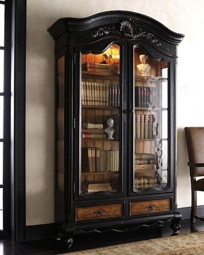 et si on peignait ce meuble en noir. Black Bedroom Furniture Sets. Home Design Ideas