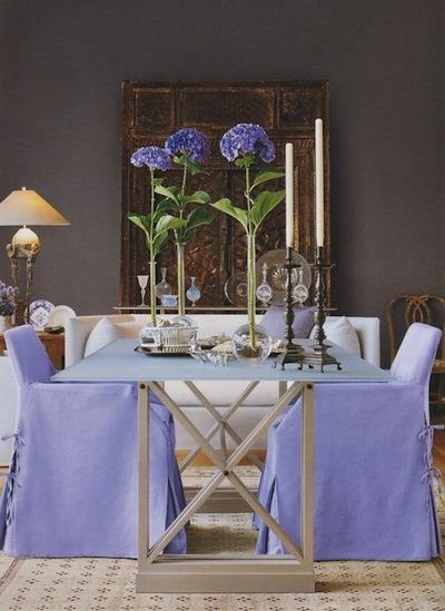 le violet en d coration exemples et conseils. Black Bedroom Furniture Sets. Home Design Ideas