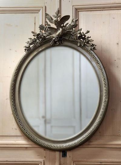 modernisez vos miroirs sculptés: vive la couleur.