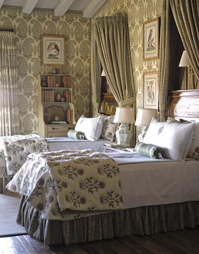 Des chambre d 39 amis aux lits jumeaux pour s 39 inspirer - Lits jumeaux pour adultes ...