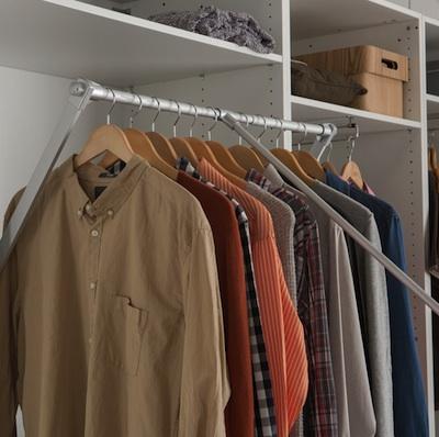 Un Dressing Bien Organisé Astuces De Rangement