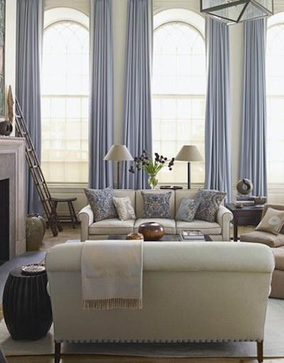 Bleu Et Beige Des Valeurs Sures En Decoration Ambiances