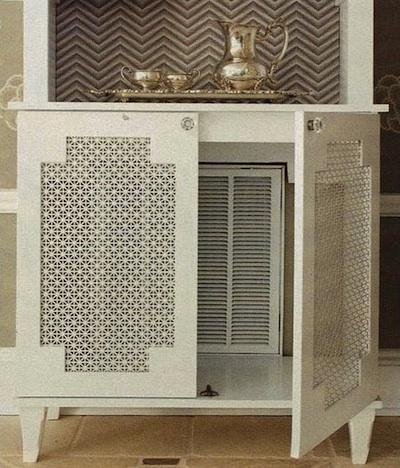 Cacher Son Radiateur idées déco pour cacher un vilain radiateur