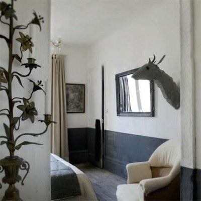 id e d co ne peindre que la moiti du mur avantages. Black Bedroom Furniture Sets. Home Design Ideas