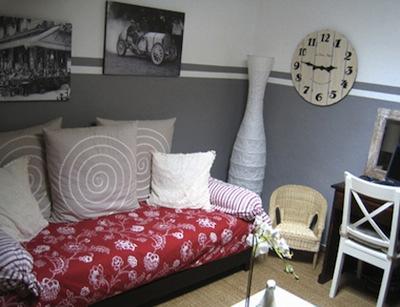 Emejing Mur Blanc Et Gris Gallery - Amazing House Design ...