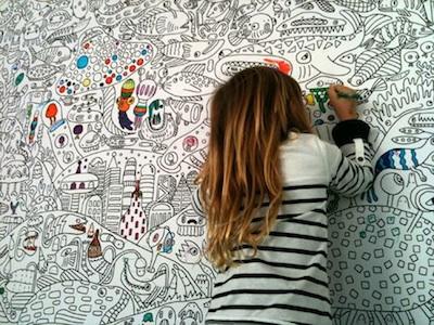 Un papier peint pour les créatifs et les rêveurs