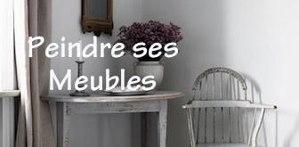 Comment peindre ses meubles et les patiner selon la - Customiser un miroir ancien ...