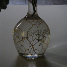 Avec des mod les in dits con us pour le magazine benita loca renouvelle pour - Peindre sur verre 100 modeles originaux ...
