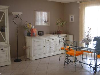 Aux pros de la d co peinture cuisine 1 forum cheval - Mur couleur lin et gris ...
