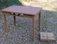 Repeindre bureau bois finest comment repeindre une table en bois