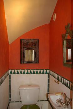 décoration marocaine toilettes