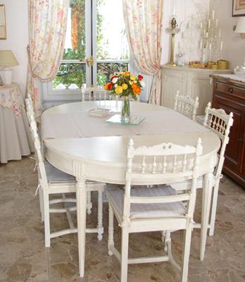 Id es et mod les pour relooker une table for Table cuisine blanche