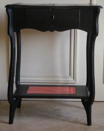 Brocante et r cup ce que l 39 on peut en faire for Peindre un meuble en noir laque