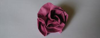 Fabriquer Une Rose En Tissu Le Truc Pour Une Rose Parfaite En Images