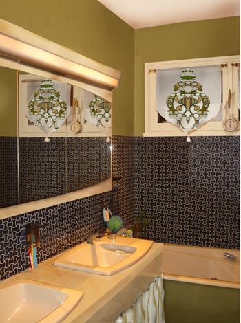 Relooker une salle de bains peu de frais - Peinture pour salle de bain humide ...