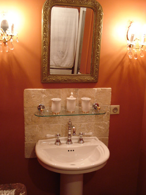 Domaine du mont verrier les salles de bains - Couleur pour la salle de bain ...