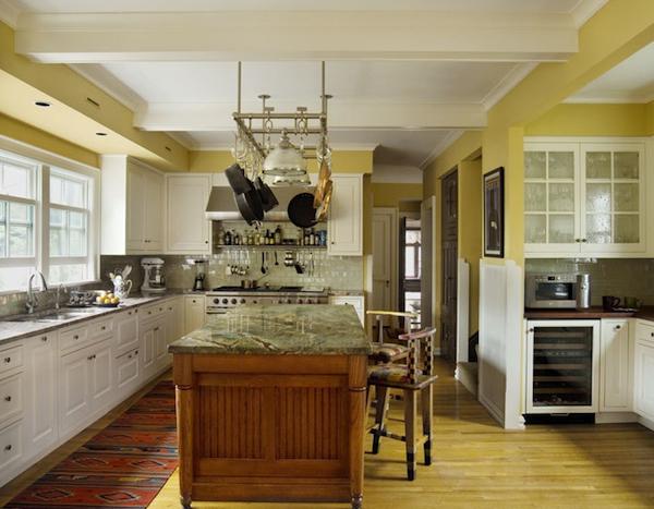 Vous voulez peindre votre cuisine en jaune france d core for Peindre mur cuisine