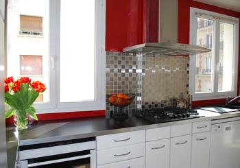 cuisine carrele - Modele De Placard Pour Cuisine En Aluminium