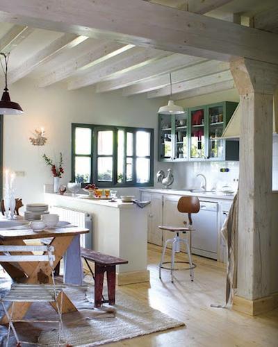 Fenetre verte - Peindre mur et plafond ...