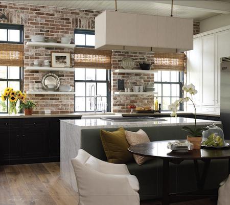 des murs intrieurs en briques apparentes conseils dcoration - Cuisine Couleur Rouge Brique