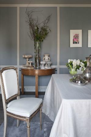 D coration choisir le gris soutenu pour peindre ses murs - Decoration pour les murs ...