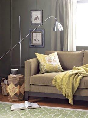 D coration choisir le gris soutenu pour peindre ses murs - Couleur complementaire gris ...