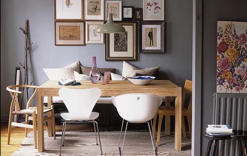 D coration choisir le gris soutenu pour peindre ses murs - Deco mur gris clair ...