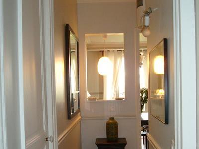 Couloir avant peinture - Couleur peinture entree couloir ...