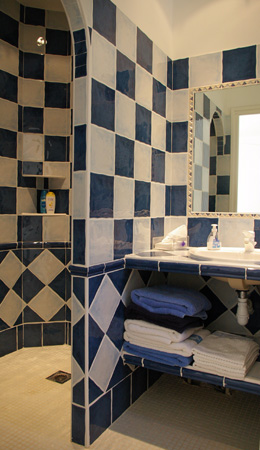 Carrelage salle de bain marocain