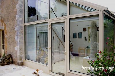 Veranda Originale veranda originale. good glass veranda grey frame with veranda