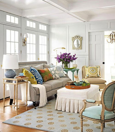 De la couleur sur les murs de son salon: recette pour ne pas se ...