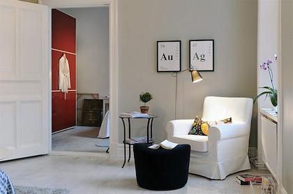 De la couleur sur les murs de son salon recette pour ne - Peindre un sejour de 2 couleurs ...