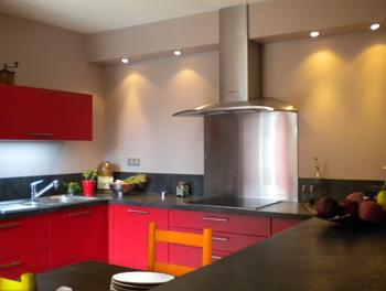 Pin table de cuisine moderne gris et orange adely on pinterest - Cuisine orange et gris ...