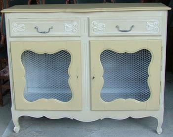 Comment transformer un meuble rustique en meuble proven al - Meuble peint provencal ...