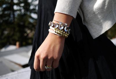 Comment faire un bracelet chic avec une ficelle et des boulons for Poignet de porte en anglais