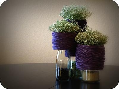 vase transformé