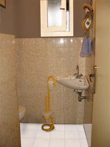 Comment rendre ces toilettes agr ables sans toucher au carrelage for Peindre ses toilettes